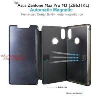 ASUS ZENFONE MAX PRO M2 ZB631KL Flip Case Clear View Mi Murah