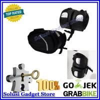 Tas Samping Motor Bentuk Oval - Side Bag