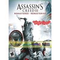 ASSASSINS CREED 3 REMASTERED + LIBERATION + ALL DLC CD DVD PC GAME