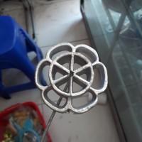 cetakan/kembang goyang/susun/dobel/double/kue/tradisional/cemilan