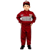 Baju Pembalap Anak Cowok 3-12 th | Seragam Cita-cita | Kostum Profesi
