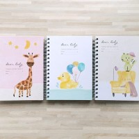 Buku Catatan Kehamilan Dear Baby Pregnancy and Baby Journal