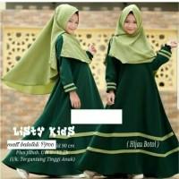 Rok Baju Gamis Syari Listy Kids Anak Cewek Perempuan Murah Terbaru