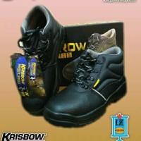 Sepatu safety Krisbow Arrow 6 inch - Hitam
