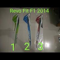 Revo Fit F1 2014 Motor List Striping / Stiker / Stripping