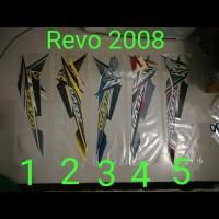 Revo 2008 Motor List Striping / Stiker / Stripping