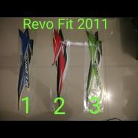 Revo Fit 2011 Motor List Striping / Stiker / Stripping