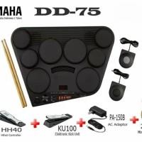 Yamaha Drum pad drum elektrik DD75 original