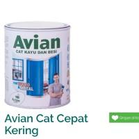 Cat Minyak Kayu dan Besi Avian hitam gloss/ doff/ 0.9 L 0.9L 1 kg 1kg