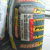 Aspira premio sportivo 150/60 17 ban tubeless motor cbr ninja 250 r25