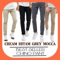 Celana Chino pria premium ukuran 27-38
