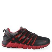 Sepatu running SPOTEC storm red original kesehatan