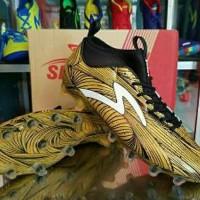 TERMURAH Sepatu Bola Specs Barricada Ultra LE FG Emperor Gold Bla