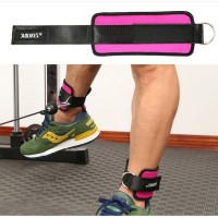 Ankle Leg Thigh Pull Exercise Strap Belt Cable Attachment Fitness Gym