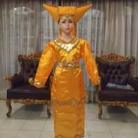 Baju pakaian adat daerah sumatera barat padang untuk anak perempuan