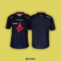 Jersey Astralis 2019 New Sponsor - Gaming Dota Baju Kaos