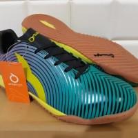 ORIGINAL Sepatu Futsal OrtusEight Forte Helios IN Tosca / Rhod Red