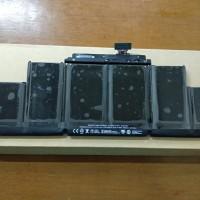 ORI Baterai Apple for Macbook Pro 15 A1398 A1417 (2011-2013) ORIGINAL