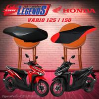 Cover Jok VARIO 125 150 Waterproof Sarung Mantel Jok Aksesoris Motor