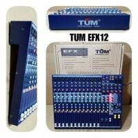 Mixer Audio TUM EfX 12 Original ( 12 Channel)