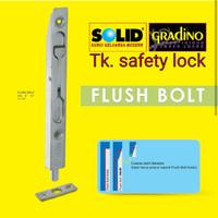 Kunci grendel tanam SOLID / slot pintu tanam 12 inc 1000858