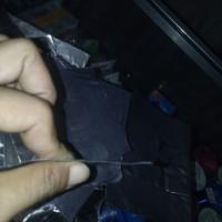 Timah Lipat 20x20 cm Bandul Pancing Lembaran