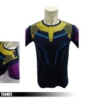Baju Kaos Thanos GLOW IN THE DARK