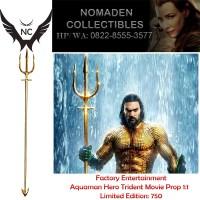 Factory Entertainment Aquaman Hero Trident Movie Prop