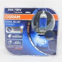 Osram H4 Cool Blue Hyper Plus CBH+ 60/55W Lampu Halogen Mobil Putih