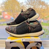 Adidas Ultra Boost Laceless Black Multi Rainbow
