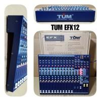 MIXER AUDIO 12 CHANNEL TUM EFX12 MIXING AUDIO EFX 12