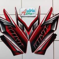 Striping Stiker Motor Yamaha Rx King 2008 Merah