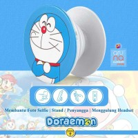 Popsocket Ring Stand Grip Holder - Anime Kartun DORAEMON - DORACPS02