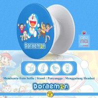Popsocket Ring Stand Grip Holder - Anime Kartun DORAEMON - DORACPS05