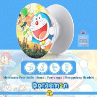 Popsocket Ring Stand Grip Holder - Anime Kartun DORAEMON - DORACPS06