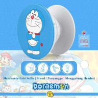 Popsocket Ring Stand Grip Holder - Anime Kartun DORAEMON - DORACPS01