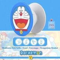 Popsocket Ring Stand Grip Holder - Anime Kartun DORAEMON - DORACPS04