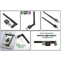 USB WIRELESS REALTEK RTL8188 antena / USB WIFI N