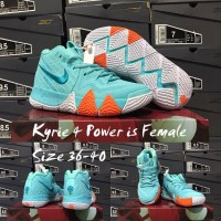 sepatu basket anak kids nike kyrie 4 power is female gs youth