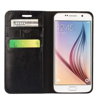 Samsung Galaxy S6 Edge Flip Cover Wallet Leather Case Classic Style