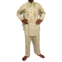 setelan baju koko pakistan warna putih / perlengkapan haji umroh