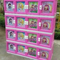 TERLARIS lemari plastik 16 pintu akako Limited