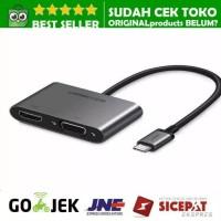 UGREEN USB C THUNDERBOLT 3 TO VGA HDMI CONVERTER NWE MACBOOK FULL HD - 50317 - NON PD