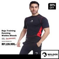Baju Training / Running / Gym Waldos Bloods - Hitam, M