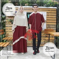 kemeja pria baju couple pasangan koko muslim wanita gamis maxi syari