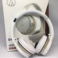 Audio Technica ATH-AR3BT Wireless On Ear Headphones - White