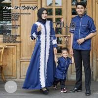 Baju Couple Muslim Keluarga KATRINA FAM Original by Ori NAJWA