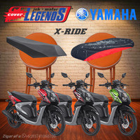 Cover Jok X RIDE Anti Air Sarung Mantel Jok Aksesoris Motor Variasi