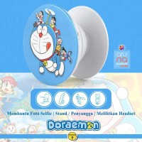 Popsocket Ring Stand Grip Holder - Anime Kartun DORAEMON - DORACPS08