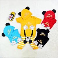 Setelah Baju Kaos Bayi Anak Laki laki Karakter Mickey Mouse
